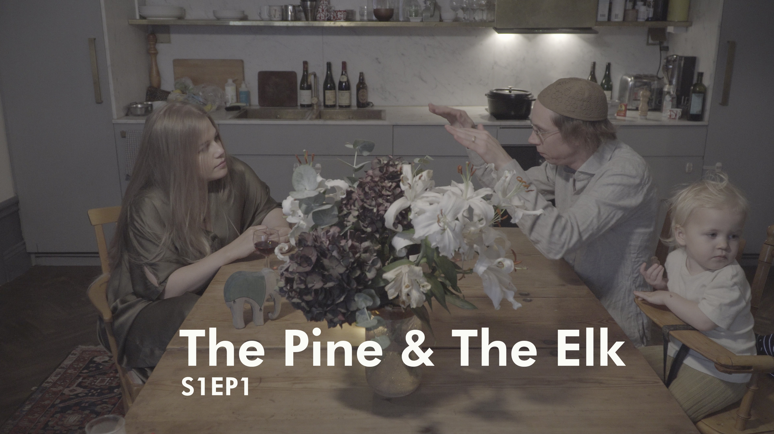 The pine and the elk